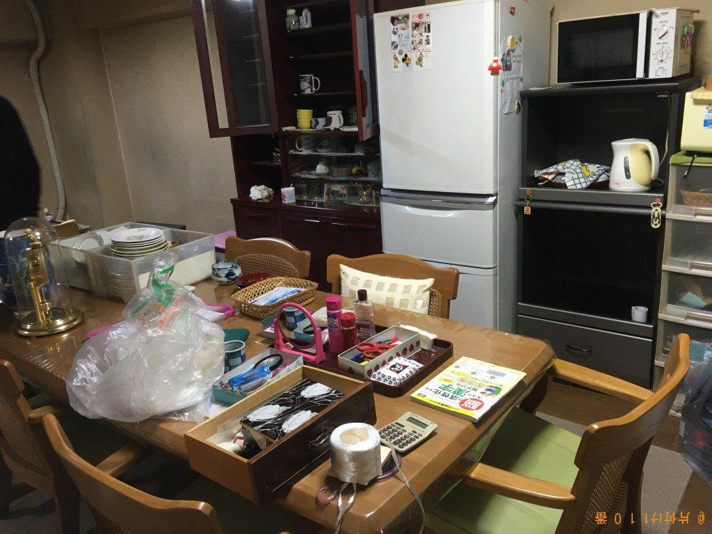 【北九州市】仏壇、神棚、冷蔵庫、ダイニングテーブルの回収・処分