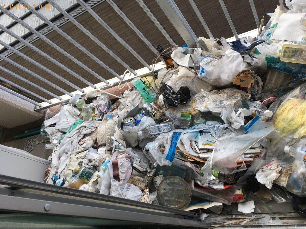 【北九州市小倉南区】ゴミ屋敷化してしまったお部屋の片付けご依頼