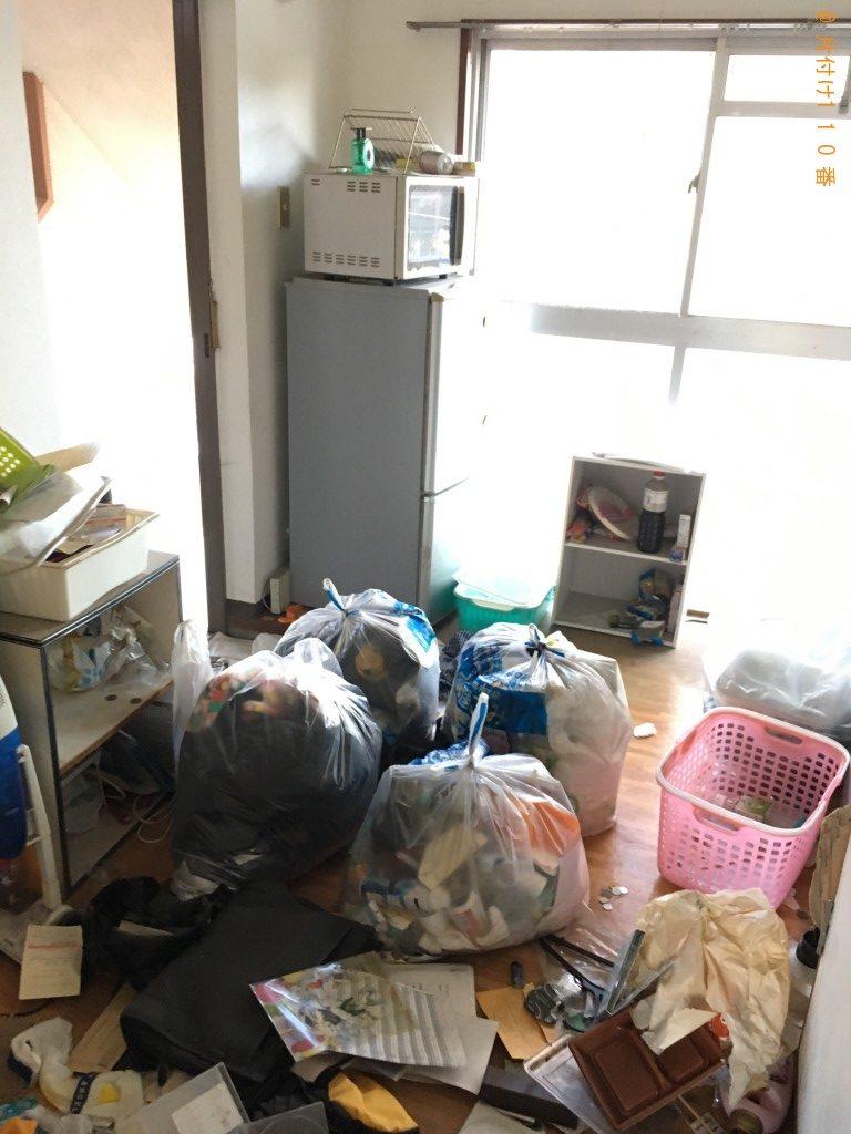 【北九州市小倉南区】大量の一般ごみの片付けと回収・処分ご依頼