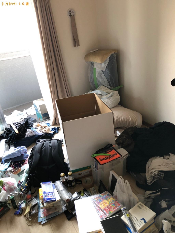 【北九州市小倉北区】シングルベッド、ベッドマットレス等の回収