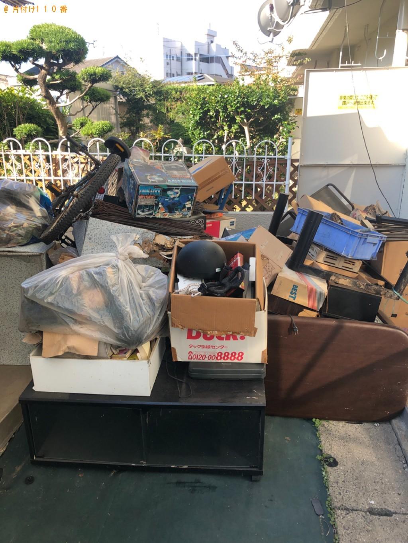 【北九州市小倉北区】テレビ、こたつ、ガラステーブル等の回収・処分