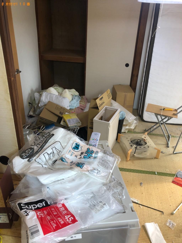 【北九州市小倉北区】引っ越し作業の手伝い・荷物の運搬ご依頼