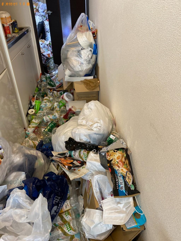 【北九州市戸畑区幸町】大量の一般ごみの片付け・回収・処分ご依頼