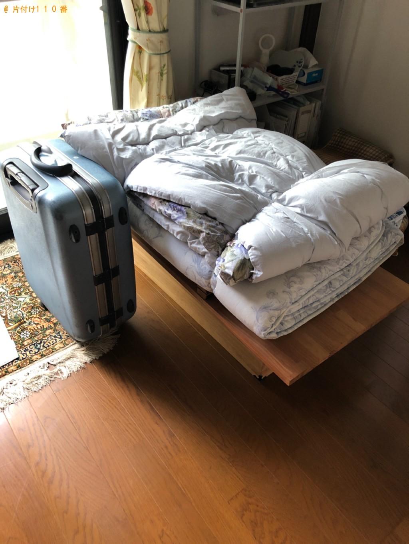 【北九州市八幡西区】衣装ケース、布団、本棚、ゴルフ道具等の回収
