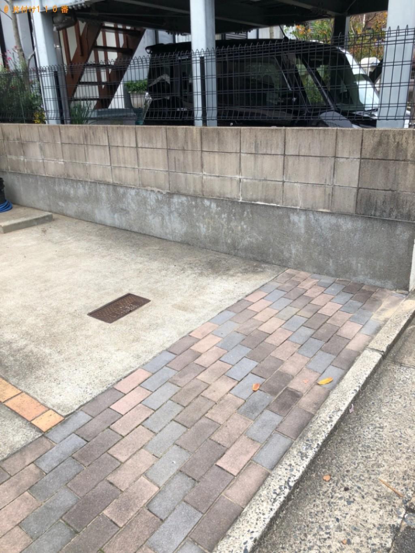 【北九州市八幡西区】椅子、発泡スチロール、タンク等の回収・処分