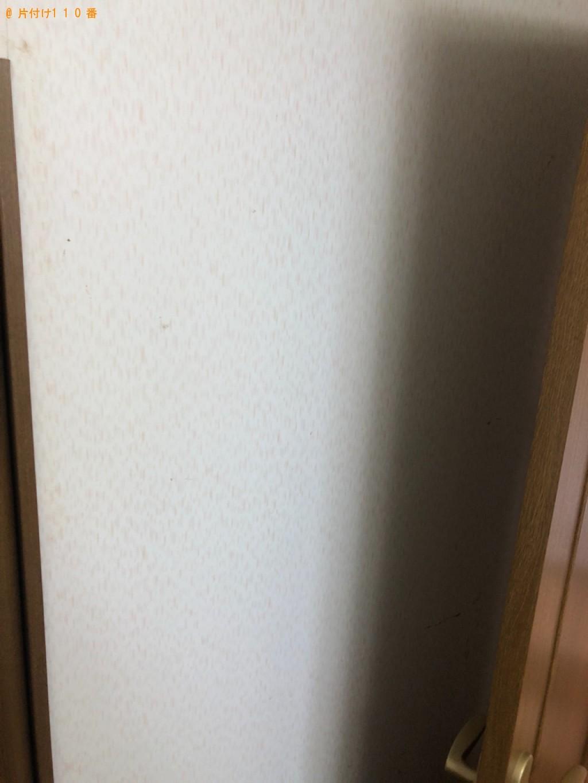 【北九州市小倉南区】タンス、障子戸の回収・処分ご依頼 お客様の声