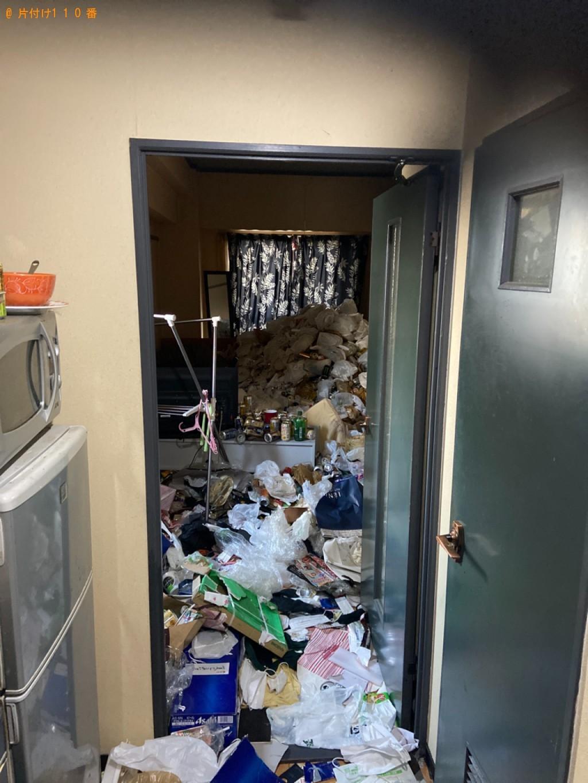 【北九州市八幡東区】大量の一般ごみの回収・処分ご依頼 お客様の声