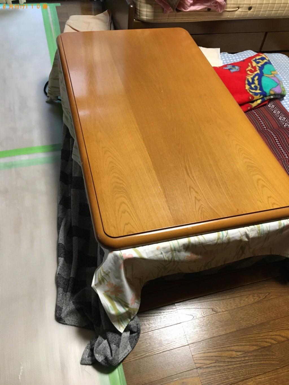 【北九州市小倉北区】カーペット、本棚、二人掛けソファー等の回収