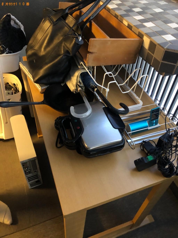 【北九州市門司区】学習机、ワインセラー、ダンボール等の回収・処分