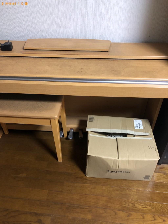 【北九州市八幡西区】モニタ、椅子、学習机、電子ピアノの回収・処分