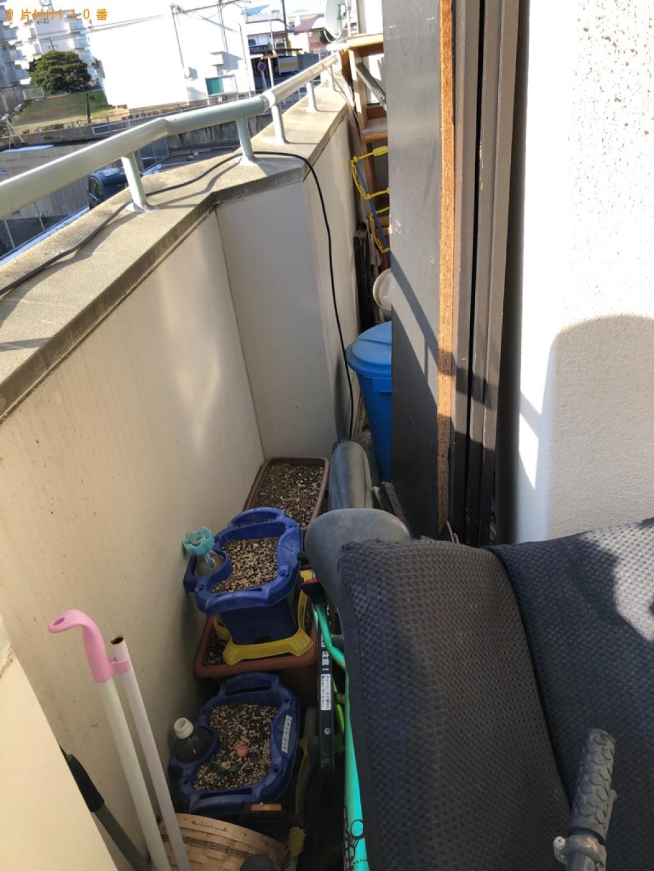 【北九州市八幡西区】自転車、鉢植え、一般ごみ等の回収・処分ご依頼