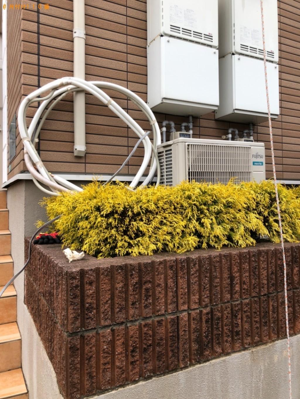 【北九州市門司区】四人掛けソファー、エアコンの回収・処分ご依頼