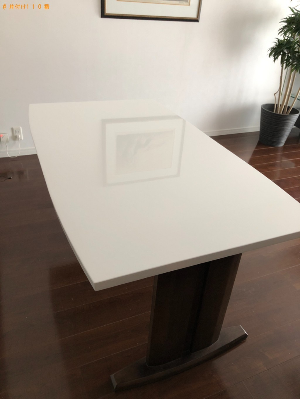 【北九州市小倉北区】四人用ダイニングテーブル、椅子の回収・処分