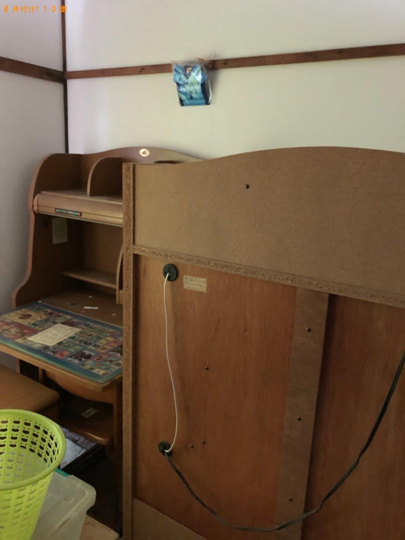 【北九州市八幡西区】本棚、四人用ダイニングテーブル等の回収・処分