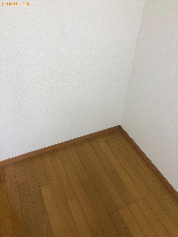 【北九州市八幡西区】シングルベッド、カラーボックス、椅子等の回収
