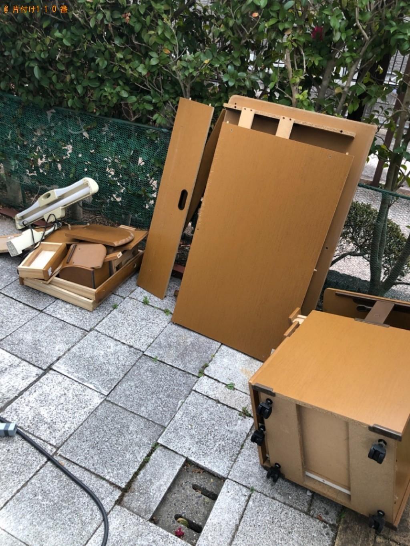 【北九州市若松区】椅子、学習机、布団等の回収・処分ご依頼