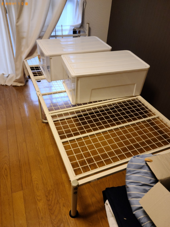 【北九州市小倉南区】冷蔵庫、本棚、クローゼット、炊飯器等の回収