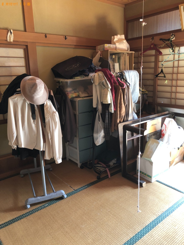【北九州市】タンス、電子レンジ、健康器具、ハンガーラック等の回収