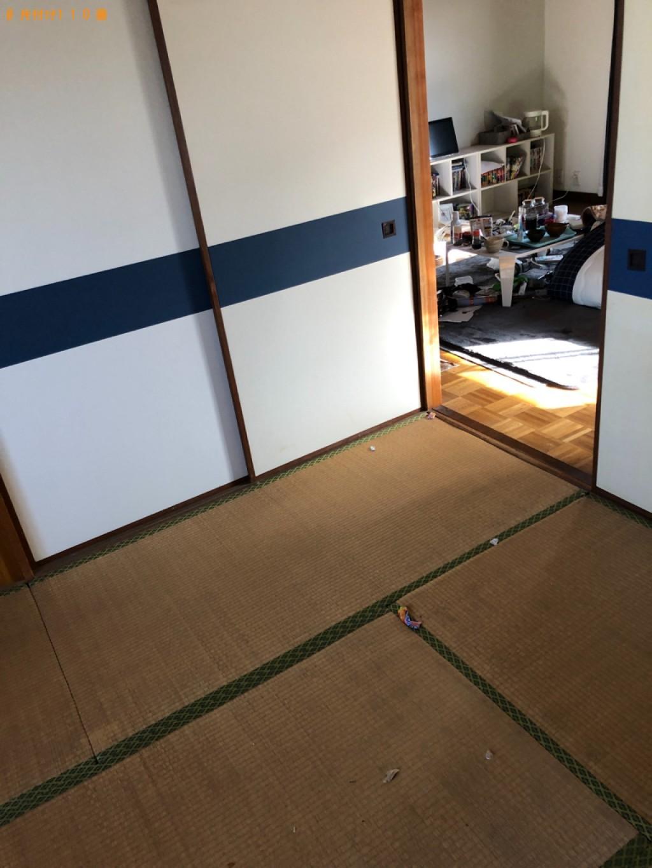【北九州市小倉北区】二人掛けソファー、テレビ台、掃除機等の回収