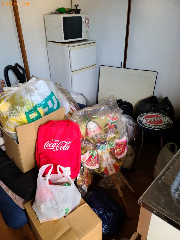 【北九州市小倉北区】冷蔵庫、こたつ、電子レンジ等の回収・処分