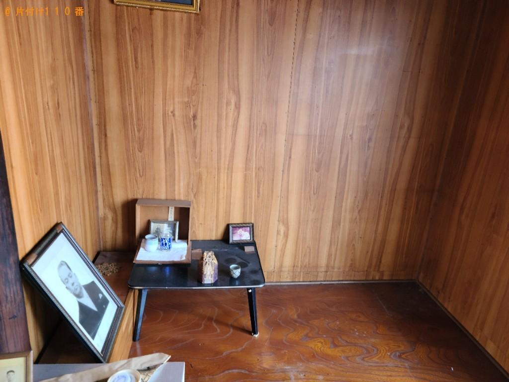 【北九州市戸畑区】仏壇、仏具の回収・処分ご依頼 お客様の声