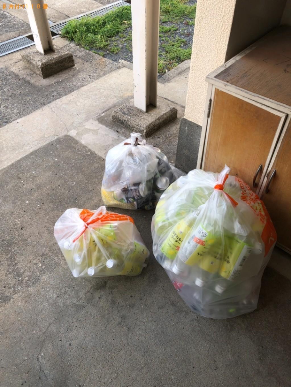 【北九州市門司区】家庭ごみ、ダンボール、ペットボトル、缶等の回収