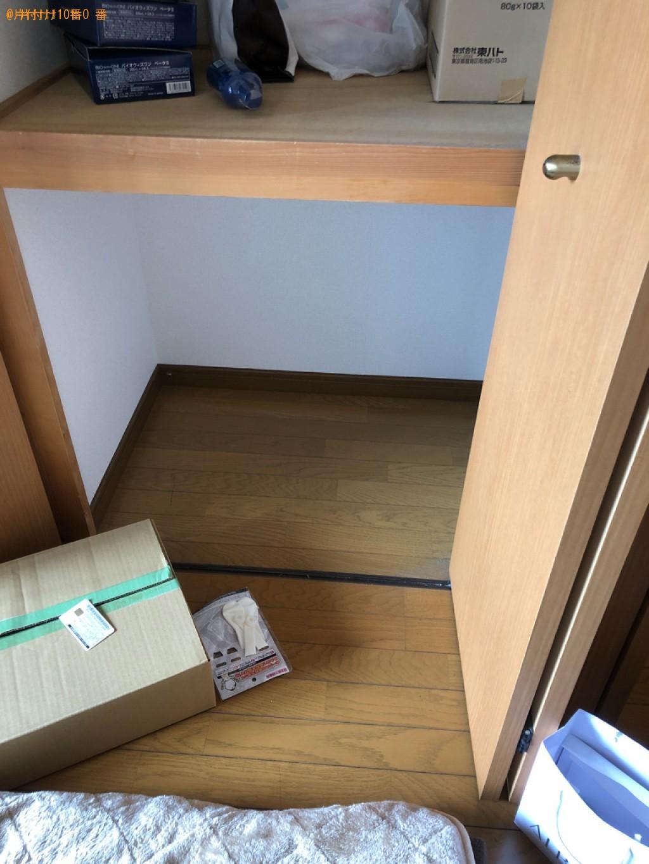 【北九州市小倉北区】冷蔵庫、電子レンジ、ガスコンロ、布団等の回収