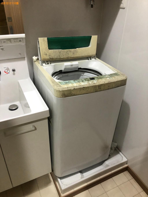【北九州市小倉北区】洗濯機、本棚、メタルラック等の回収・処分
