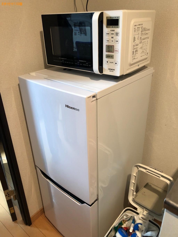 【北九州市小倉北区】冷蔵庫、洗濯機、二人掛けソファーの回収・処分
