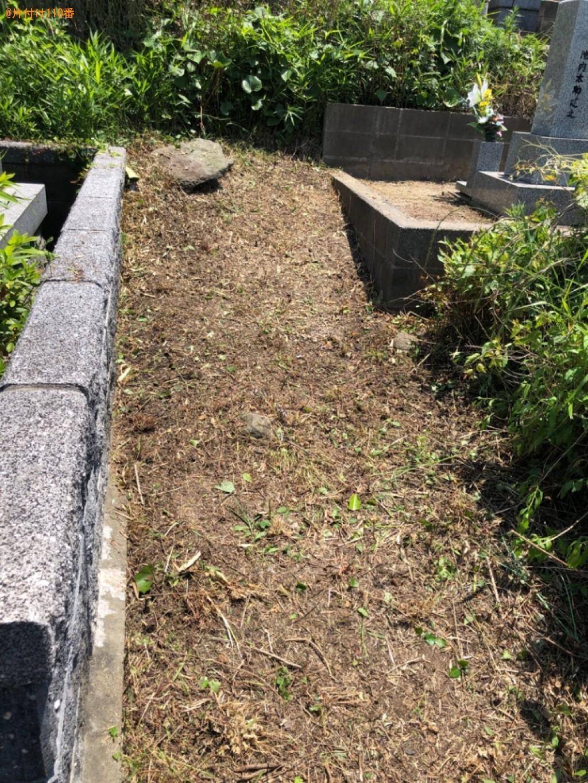 【北九州市】草刈り作業ご依頼 お客様の声