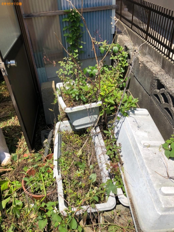 【北九州市八幡西区】草刈り作業とプラスチック類の回収ご依頼