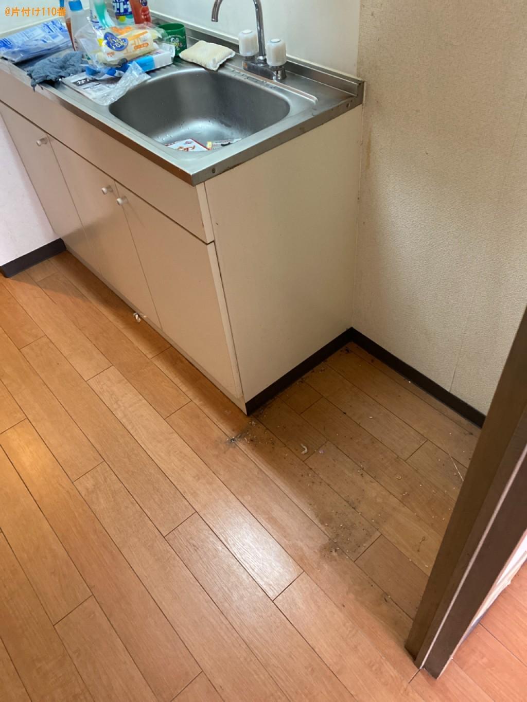 【北九州市小倉南区】冷蔵庫、洗濯機、本棚、衣類等の回収・処分