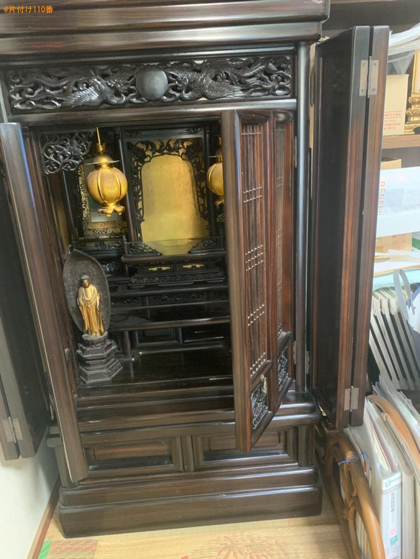 【北九州市小倉南区】仏壇の回収・処分ご依頼 お客様の声