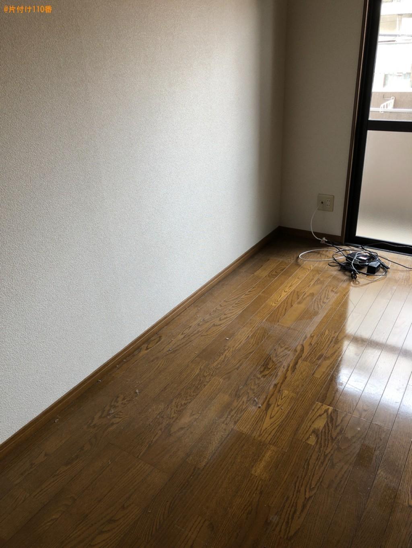 【北九州市小倉北区】ベッド、布団、家電の回収・処分ご依頼