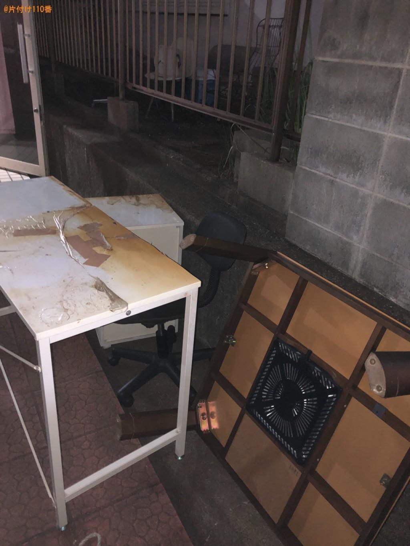 【北九州市八幡西区】こたつ、椅子、学習机の回収・処分ご依頼