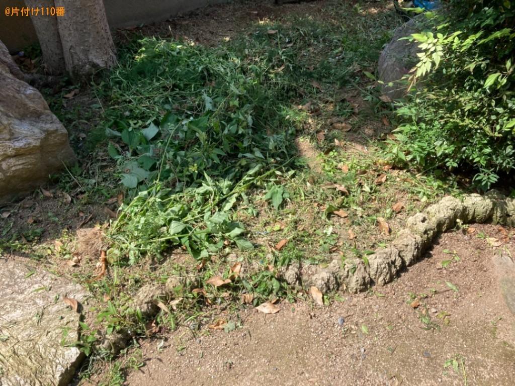 【北九州市門司区】草刈り作業ご依頼 お客様の声