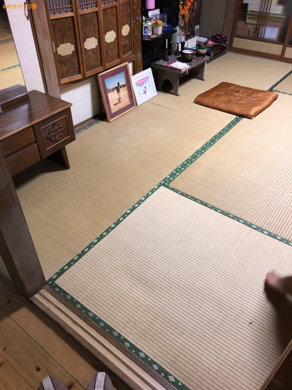 【北九州市門司区】食器棚、電動介護ベッドの回収・処分ご依頼